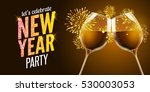 new year eve 2017. holiday... | Shutterstock .eps vector #530003053