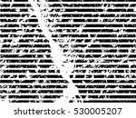 grunge white and black stripes. ... | Shutterstock .eps vector #530005207