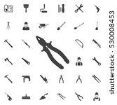 Pliers Icon. Construction Icon...