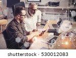 concept of digital screen... | Shutterstock . vector #530012083