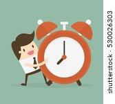 time management. business... | Shutterstock .eps vector #530026303