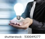 hands of business person... | Shutterstock . vector #530049277