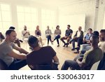 people meeting seminar office... | Shutterstock . vector #530063017