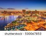 Baltimore  Maryland  Usa Inner...
