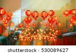 chinese new year lanterns in... | Shutterstock . vector #530089627