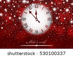 new year and christmas concept... | Shutterstock .eps vector #530100337