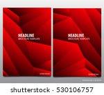 abstract red vector modern...   Shutterstock .eps vector #530106757