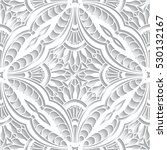 elegant lace texture  tulle... | Shutterstock .eps vector #530132167