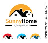 property house logo template... | Shutterstock .eps vector #530132767