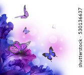 amazing butterfly fairy of... | Shutterstock . vector #530136637