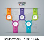 infographic design vector and... | Shutterstock .eps vector #530143537