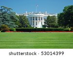 The White House In Washington...