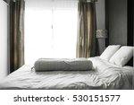 empty modern bedroom interior | Shutterstock . vector #530151577