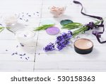 grooming products and fresh... | Shutterstock . vector #530158363