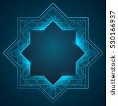 arabic geometric pattern...   Shutterstock .eps vector #530166937