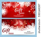 christmas and new year gift... | Shutterstock .eps vector #530168287