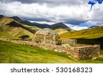 ancient building in mountains | Shutterstock . vector #530168323
