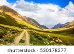 mountain road panorama landscape | Shutterstock . vector #530178277