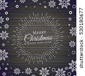 christmas festival background... | Shutterstock .eps vector #530180677