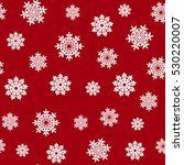 seamless pattern snowflakes... | Shutterstock .eps vector #530220007