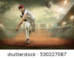 baseball players in action on... | Shutterstock . vector #530227087