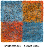 colorful weave grunge striped... | Shutterstock .eps vector #530256853