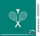 badminton  | Shutterstock .eps vector #530295427