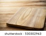 bright cutting board on a... | Shutterstock . vector #530302963