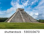 el castillo or temple of... | Shutterstock . vector #530310673