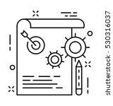 plan vector icon   Shutterstock .eps vector #530316037