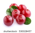 Sweet Cranberries With Leafs...