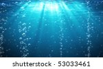 blue ocean waves from... | Shutterstock . vector #53033461