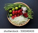 Mix Ingredients Of Thai Green...