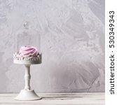 homemade marshmallows in glass... | Shutterstock . vector #530349343