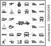 transportation icon vector...   Shutterstock .eps vector #530414293