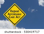 repealing and replacing the... | Shutterstock . vector #530419717