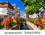 beautiful places of france  ... | Shutterstock . vector #530423953