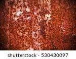 rusty metal background textured | Shutterstock . vector #530430097