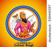 illustration of happy guru...   Shutterstock .eps vector #530445397
