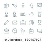 office and business set of... | Shutterstock .eps vector #530467927