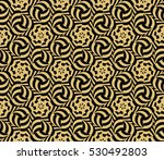 damask floral seamless... | Shutterstock .eps vector #530492803