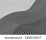 curved abstract  vector lines ... | Shutterstock .eps vector #530515657