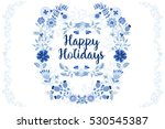 vector templates for your... | Shutterstock .eps vector #530545387