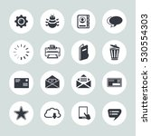 email icons | Shutterstock .eps vector #530554303
