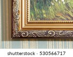 part of a picture frame | Shutterstock . vector #530566717