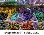 selection of precious and... | Shutterstock . vector #530572657