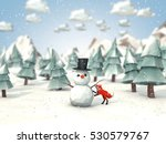 cartoon style low poly 3d... | Shutterstock . vector #530579767