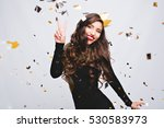 birthday party  new year... | Shutterstock . vector #530583973