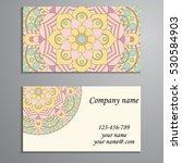 business card. vintage...   Shutterstock .eps vector #530584903
