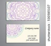 business card. vintage...   Shutterstock .eps vector #530585107